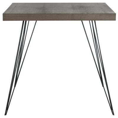 Motta Accent Table Top Color: Dark Brown
