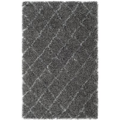 Armstead Grey/Ivory Geometric Contemporary Rug Rug Size: 3'3