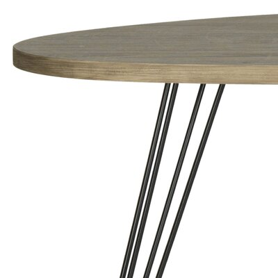 Burchard End Table Finish: Oak