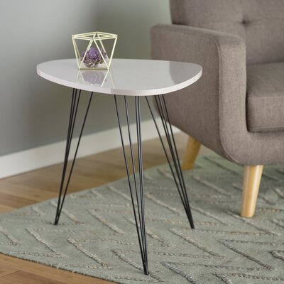 Burchard End Table Finish: Taupe Black