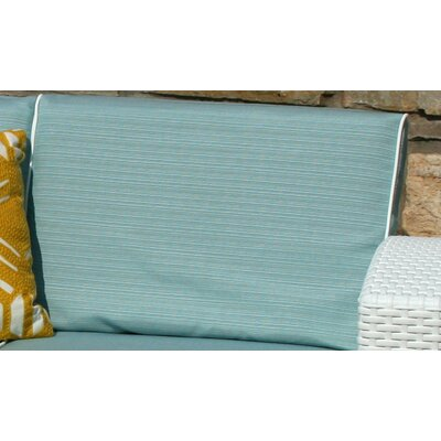 Loggins Outdoor Sofa Cushion Cover Set Color: Blue