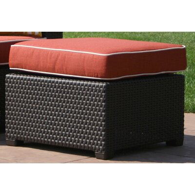 Loggins Ottoman with Cushion Fabric: Ofort