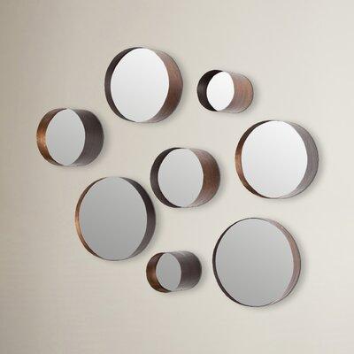 8-Piece Lonergan Round Wall Mirror Set