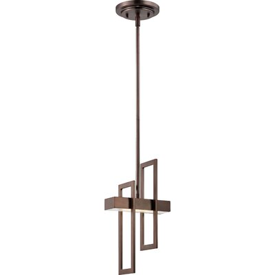 Callington 1-Light Pendant Finish: Hazel Bronze