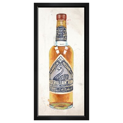 Australian Rum Framed Vintage Advertisement
