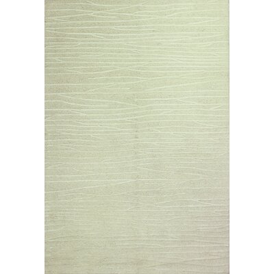 Forsyth Road Hand-Tufted White Area Rug Rug Size: Rectangle 37 x 57