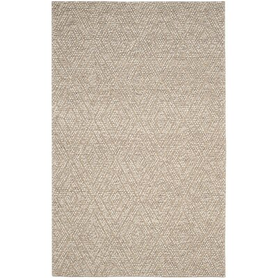 Rohan Hand-Tufted Beige Area Rug Rug Size: 5 x 8