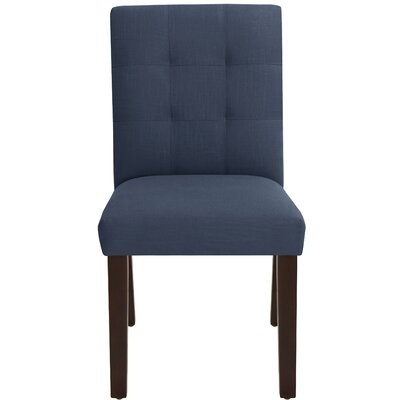 Fremont Parsons Chair Upholstery Color: Navy