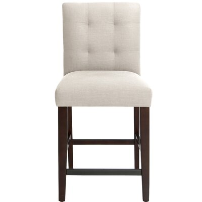 Fremont 26 Bar Stool Upholstery Color: Talc