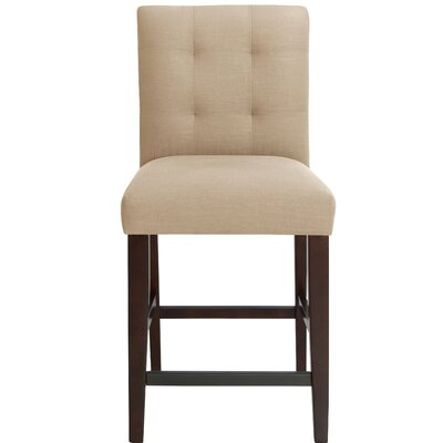 Fremont 26 Bar Stool Upholstery Color: Sandstone