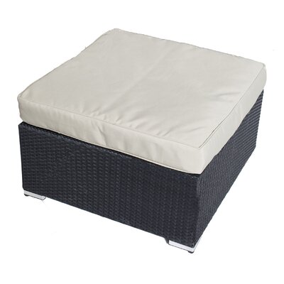 Kingsdown Ottoman with Cushion Fabric: Taupe