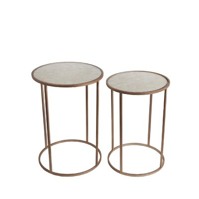 Iasos 2 Piece End Table Set