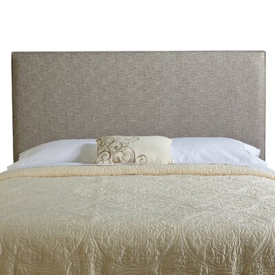 Franklin Square Queen Upholstered Panel Headboard Upholstery: Ash Grey