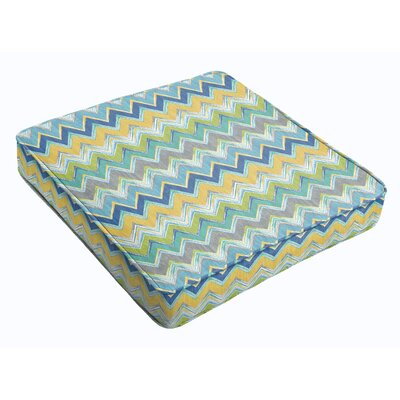 Outdoor Dining Chair Cushion Fabric: Pacific
