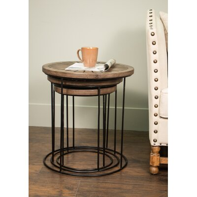 3-Piece Linders Nesting Table Set
