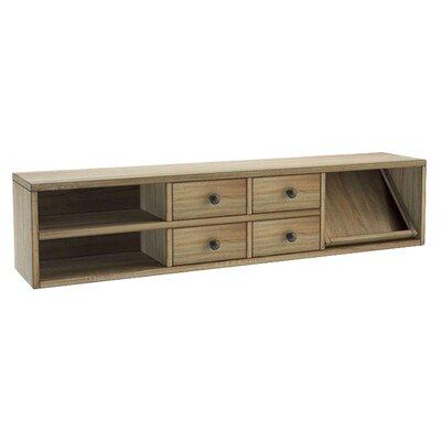 Cooksey 10 H x 44.25 W Desk Hutch