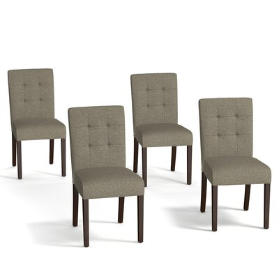 Isidora Parsons Chair Upholstery: Brown / Tan