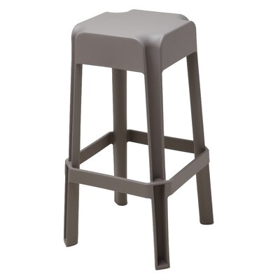 Jackson Heights 29.72 Bar Stool Finish: Mild Grey