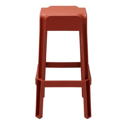 Jackson Heights 29.72 Bar Stool Finish: Burnt Orange