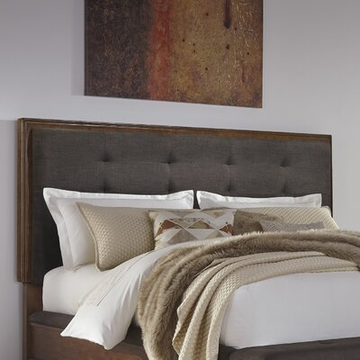 Hylan Upholstered Panel Headboard Size: California King