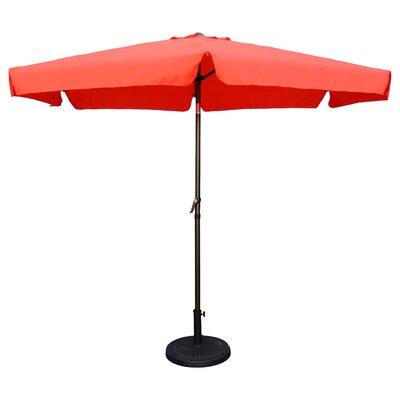 9 Hyperion Drape Umbrella Fabric: Tangerine Dream