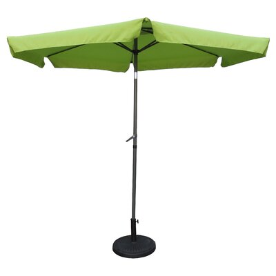 9 Hyperion Drape Umbrella Fabric: Grass Green