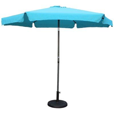 9 Hyperion Drape Umbrella Fabric: Aqua Blue