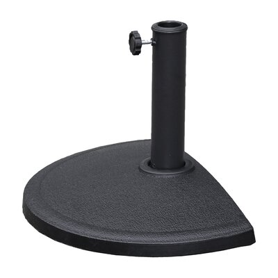 Hyperion Compound Resin Free Standing Umbrella Base Finish: Black