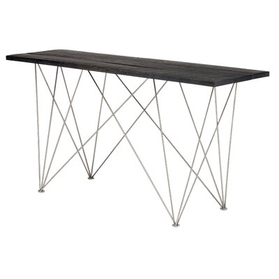 Iolanta Console Table Top Finish: Ebonized Oak