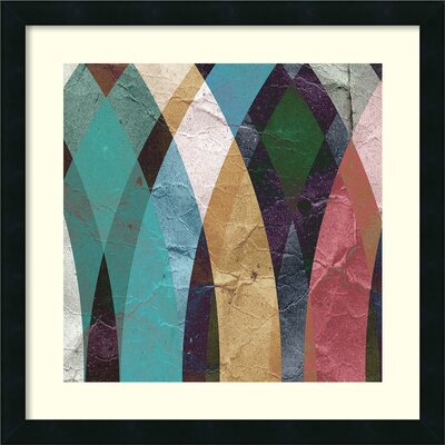 Geometric Design 3 Framed Painting Print