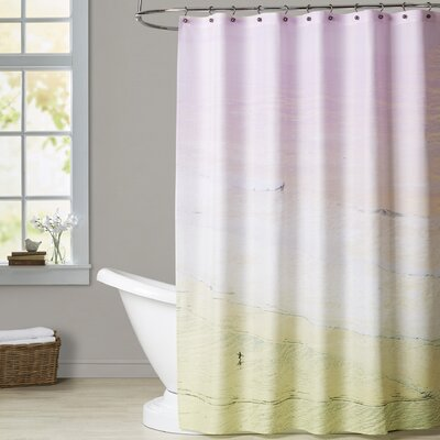 Mina Teslaru Surfs Up Shower Curtain