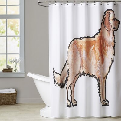 Rivero Retriever Shower Curtain