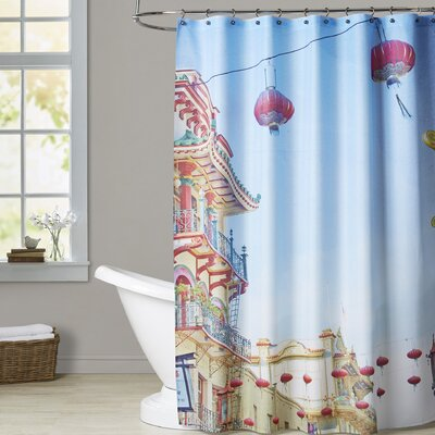 Mina Teslaru San Francisco Tops 3 Shower Curtain