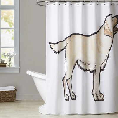 Lathem Lab Shower Curtain