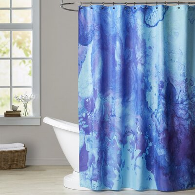 Deb McNaughton Ink Octopus Shower Curtain