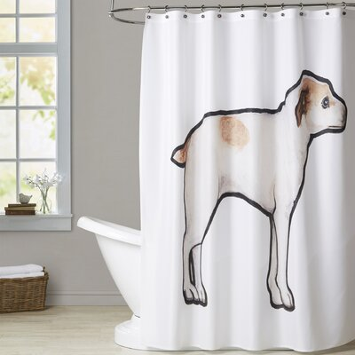 Sweeting Jack Russell Shower Curtain