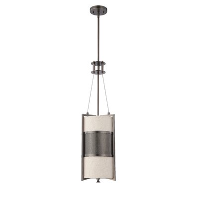 Ferriera 1-Light Mini Pendant Size / Finish / Shade Type / Bulb Type: 31.25 H x 9.5 W / Hazel Brnze / Khaki  / Incand.