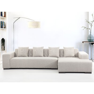 BRYS3761 32660214 Brayden Studio Right, Upholstery Sectionals