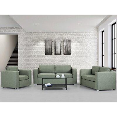 Jared 3 Piece Living Room Set