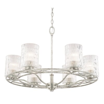 Knap 6-Light Shaded Chandelier