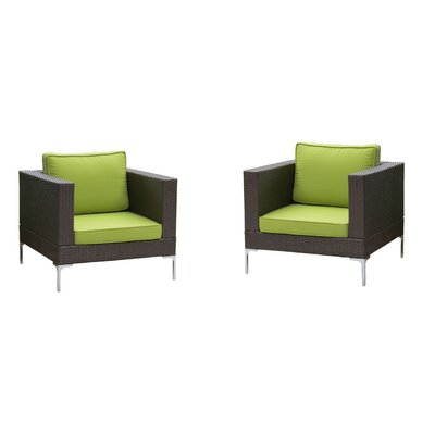 Brayden Studio Kelton Club Chair with Cushions