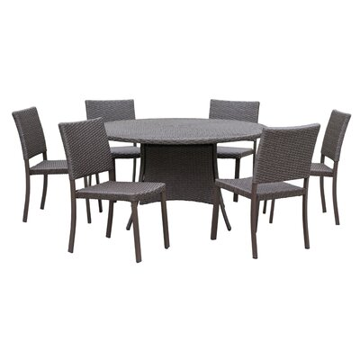 Bourdon 7 Piece Dining Set