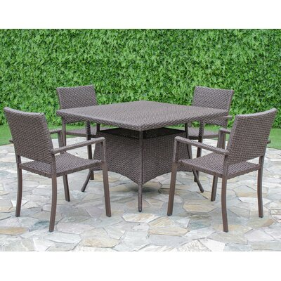 Chesnut 5 Piece Dining Set