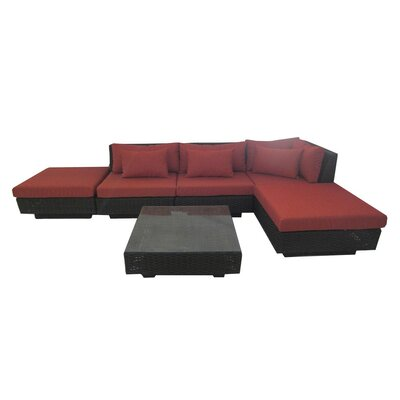 Kenton 6 Piece Seating Group with Cushion