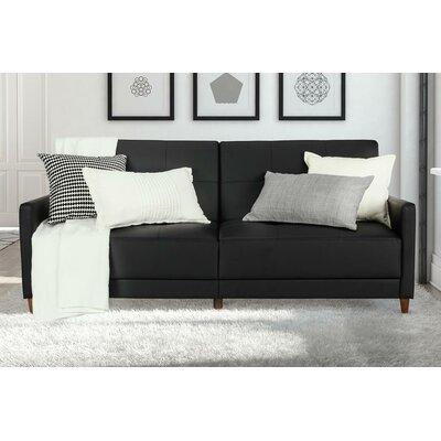 Benitez Sofa Upholstery: Black