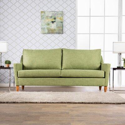 Nyack Sofa Upholstery: Green