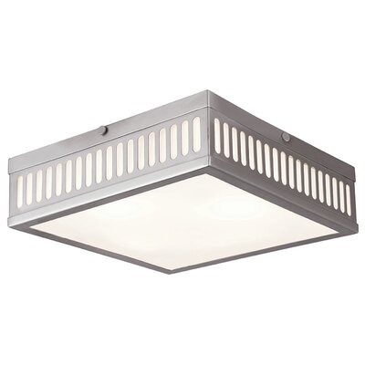 Millington 3-Light Flush Mount Finish: Brushed Nickel