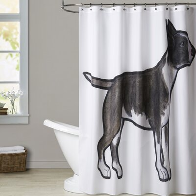 Mcnair English Bulldog Shower Curtain