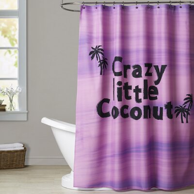Ashlee Rae Crazy Little Coconut Shower Curtain