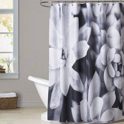 Melinda Wood Succulents Shower Curtain